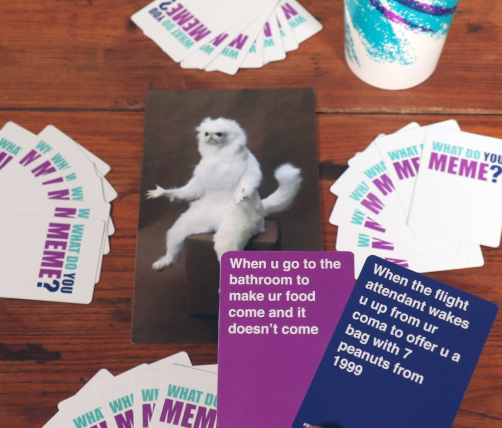 What Do You Meme Card Game what do you meme? card game popsugar tech