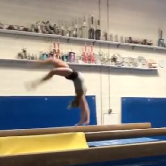 MyKayla Skinner New Combination of Gymnastics Skills on Beam