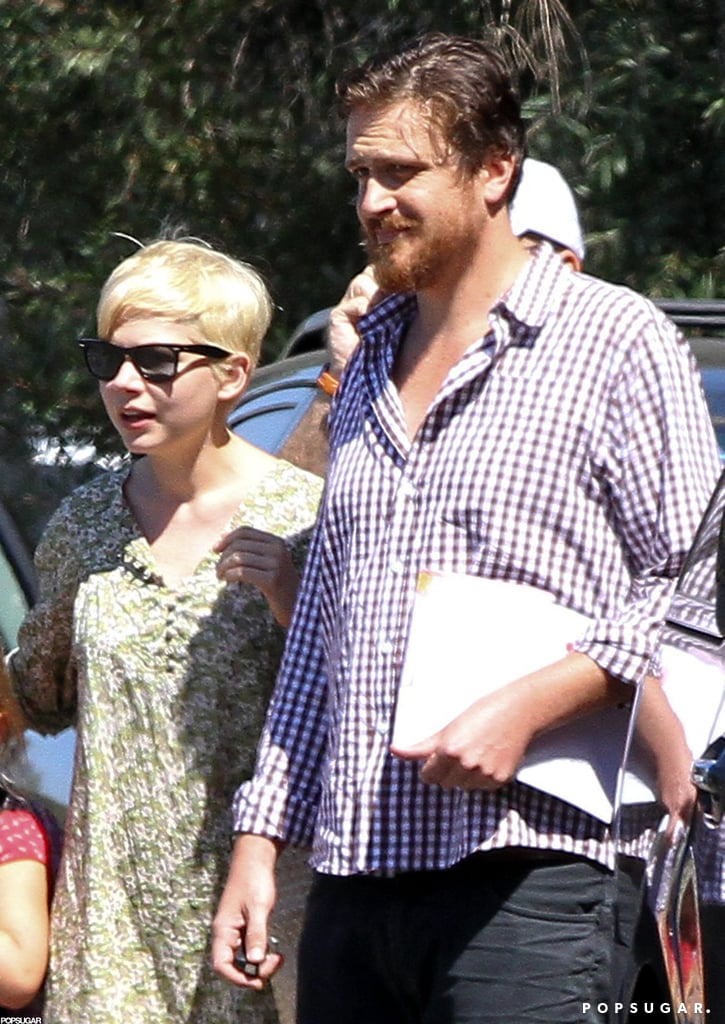 Michelle Williams and Jason Segel were out and about together in LA.