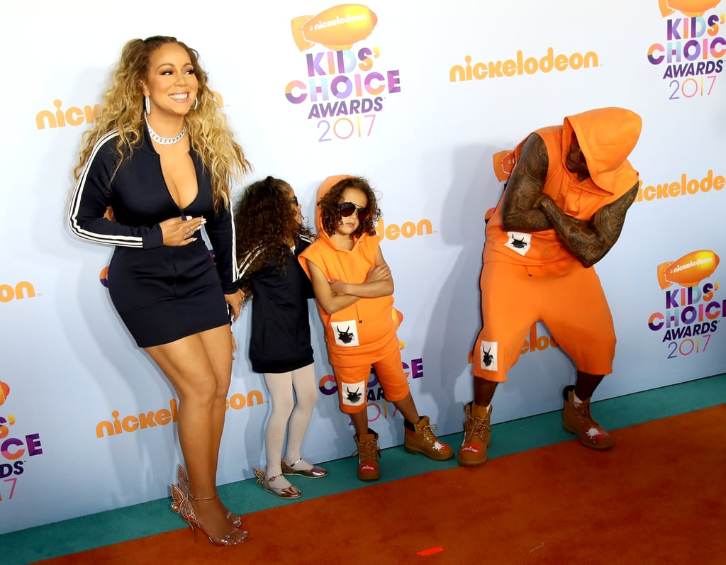 Mariah Carey and Nick Cannon Family 2017 Kids' Choice ...