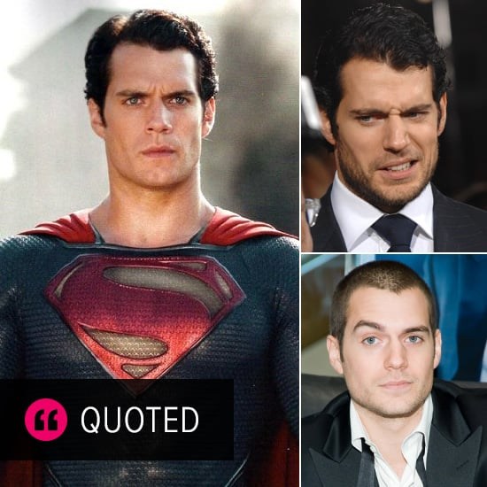 Man Of Steel Quotes: Henry Cavill Interview Quotes