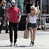 Lady Gaga and Bradley Cooper Shopping in LA Sept. 2016