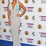 I really like this maxi dress on Lauren Goodger. Are you a fan?