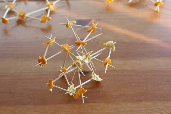 Toothpick and Orange Peel Construction