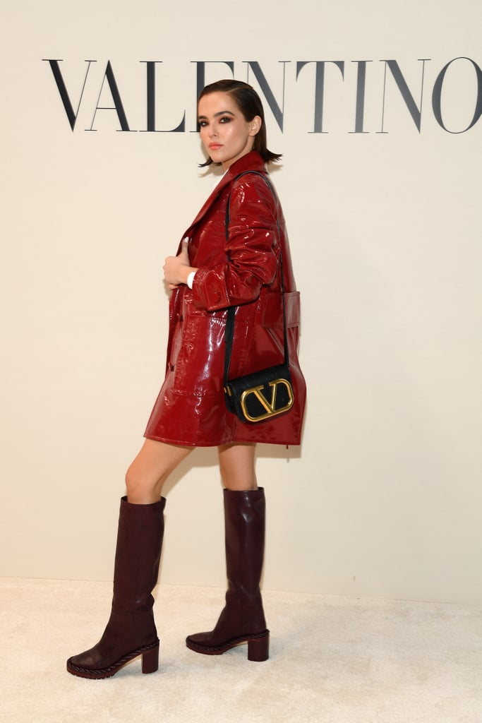 Zoey Deutch at the Valentino Fall 2020 Show