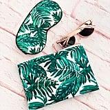 Mod Party Palm Leaf Makeup Bag