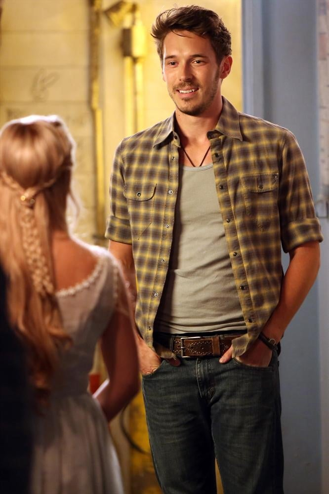 Sam Palladio on the season premiere of Nashville.