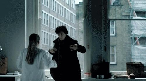 Let's just see that Sherlock and Molly kiss one more time . . . Source: BBC