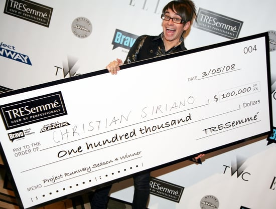 Pictures of Project Runway Winner Christian Siriano