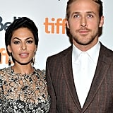 Ryan Gosling's current love, Eva Mendes, starred with him in the 2012 movie The Place Beyond the Pines.