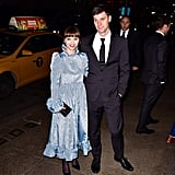 Christina Ricci and James Heerdegen at Marc Jacobs's Wedding