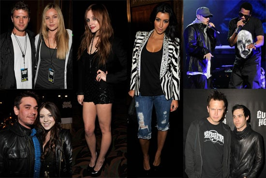Photos of Ashlee Simpson, Eminem, Jay-Z, Ryan Phillippe, DJ AM, Matthew McConaughey at DJ Hero Launch