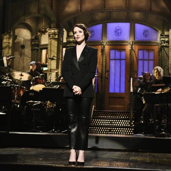 Claire Foy Saturday Night Live Monologue Dec. 1, 2018