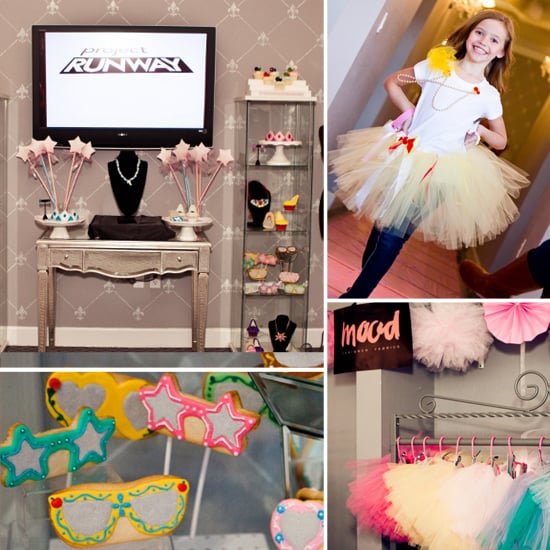 An Over-the-Top Project Runway Birthday Party