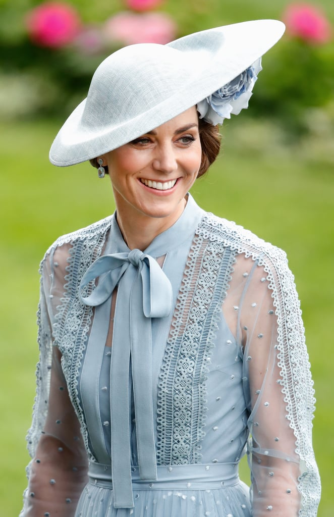 The royal family has been keeping busy this year, and Kate Middleton is no exception. Though the Duchess of Cambridge only made a few public appearances in 2018 because she was on maternity leave, this year, she hit the ground running. In addition to visiting organizations and charities that are close to her heart, she has also put her maternal side on display as she mingles with children during special appearances. Not to mention, she's already attended quite a few events with the rest of the royal family, including Trooping the Colour and Royal Ascot. Ahead, see some of her best moments so far!       Related:                                                                                                           Prince William and Kate Middleton's Family Is Just as Sweet as Their Royal Romance