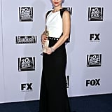 Claire Danes posed at the Fox afterparty.