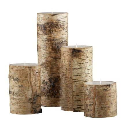 Nice and New: Birch Candles