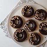 Baked Pretzel Doughnuts