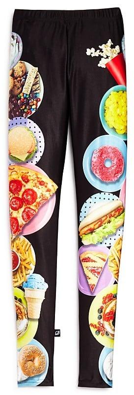 Party Food Print Leggings