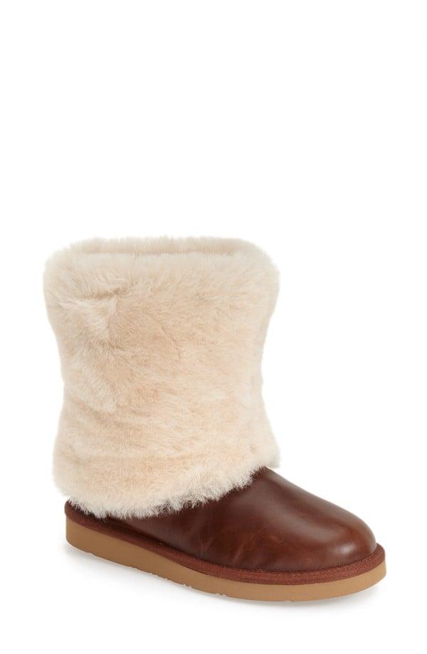 UGG Patten' Water Resistant Sheepskin Cuff Boots ($200)