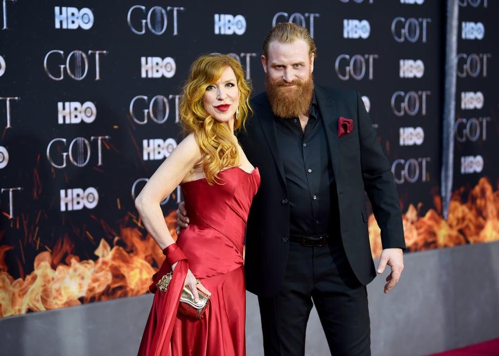 Gry Molvær Hivju And Kristofer Hivju Game Of Thrones Cast Season 8