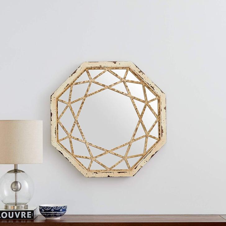 Stone & Beam Octagonal Hanging Wall Mirror Decor   Best ...