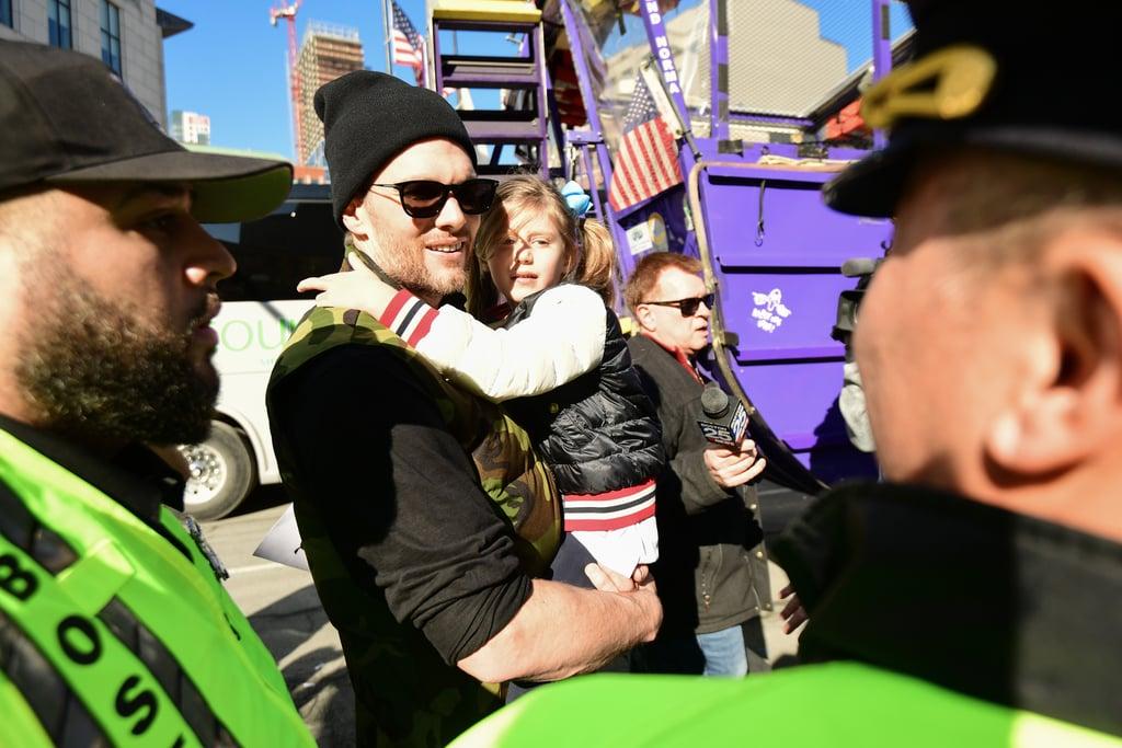 Tom Brady and His Family at 2019 Super Bowl Parade