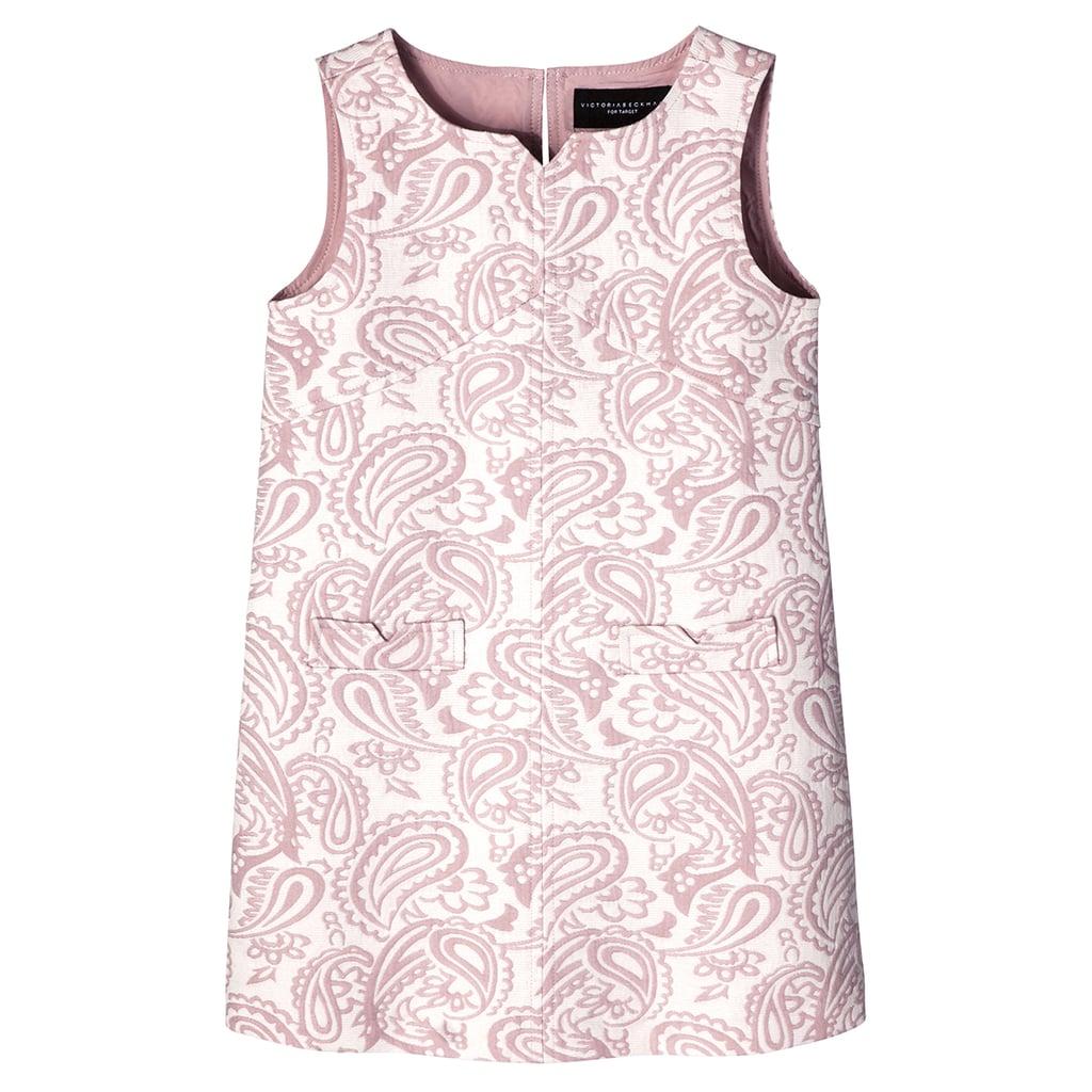 Girl's Blush Floral Jacquard Shift Dress ($28)