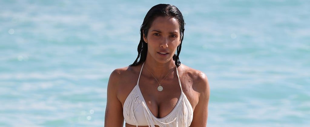 Padma Lakshmi Is White-Hot During Her Beach Day in Miami
