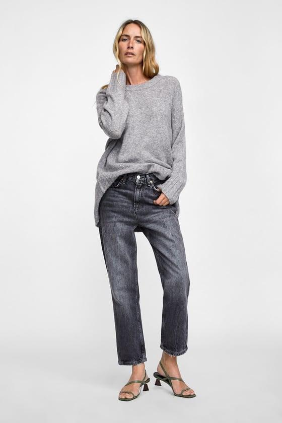Zara Wood Heeled Leather Sandals