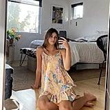 UO Beach Ruffle Mini Dress