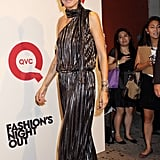 Heidi Klum on Fashion's Night Out.