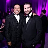 Smokey Robinson and Chace Crawford