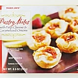 Trader Joe's Pastry Bites With Feta Cheese and Caramelized Onions ($5)