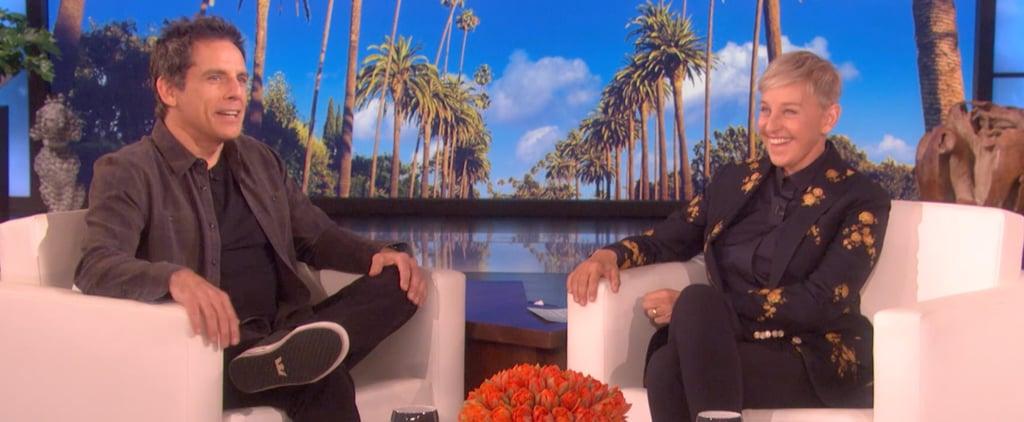 Ben Stiller on the Ellen DeGeneres Show Video March 2019