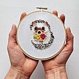 DIY Cute Hedgehog Craft Project