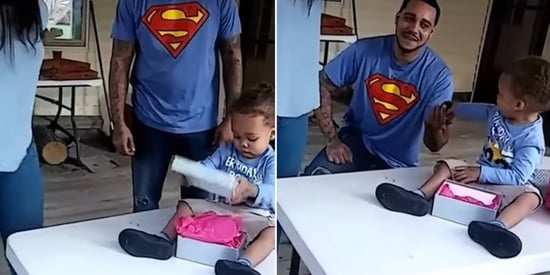 Couple's Adorable 2-Year-Old Made The Very Best Proposal Wingman