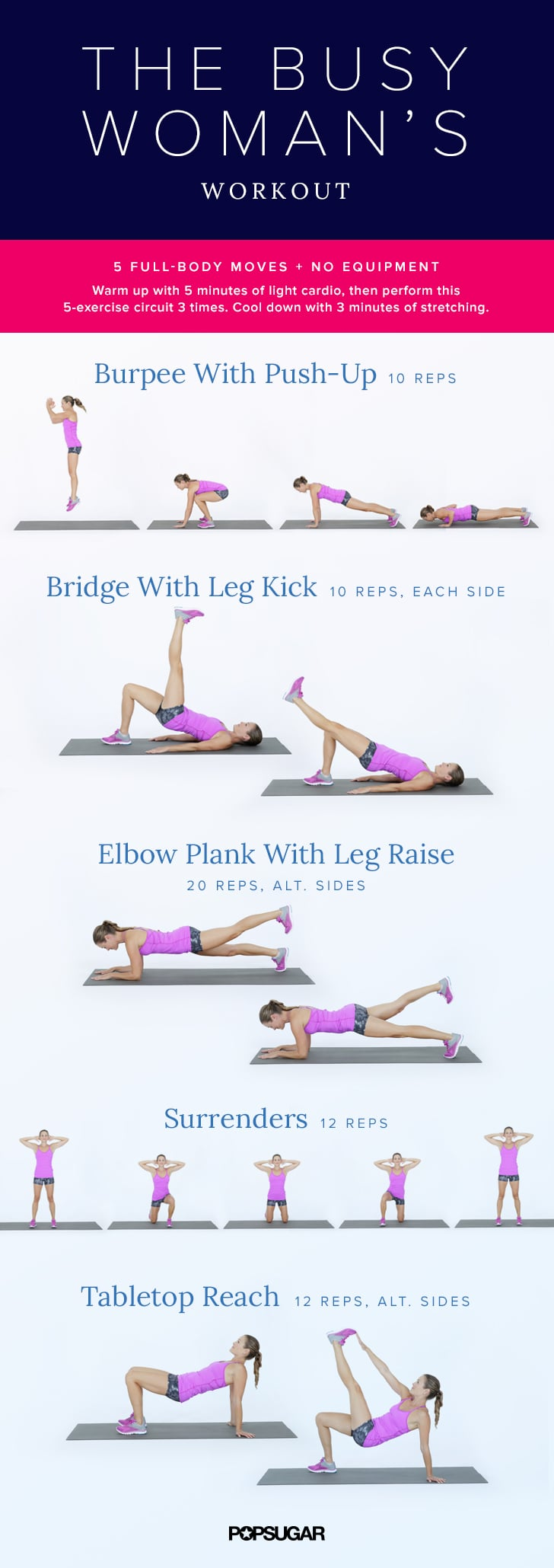The Busy-Woman's Workout