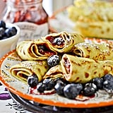 Peanut Butter and Jelly Crepes