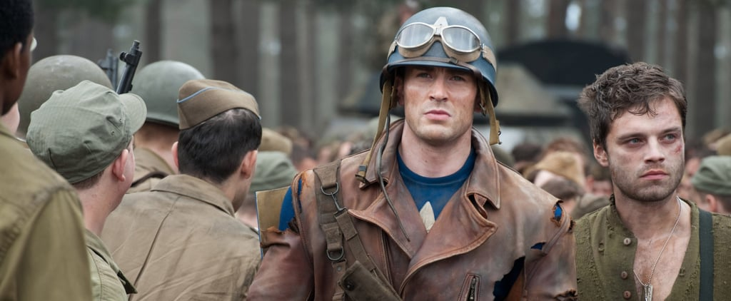 Chris Evans Shares BTS Footage From Captain America | Video
