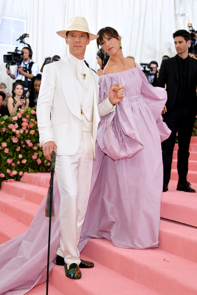 Benedict Cumberbatch and Sophie Hunter at the 2019 Met Gala