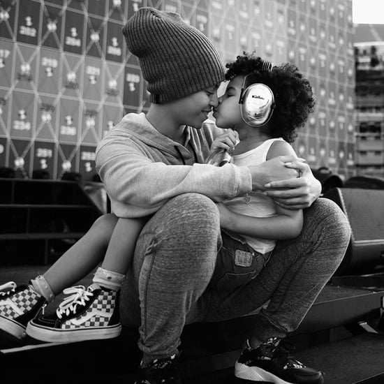 Beyonce and Blue Ivy Pictures on the Formation Tour