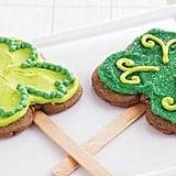 Clover Cookie Pops