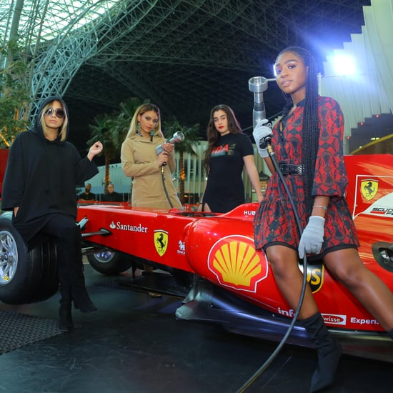 Fifth Harmony Visit Ferrari World Abu Dhabi