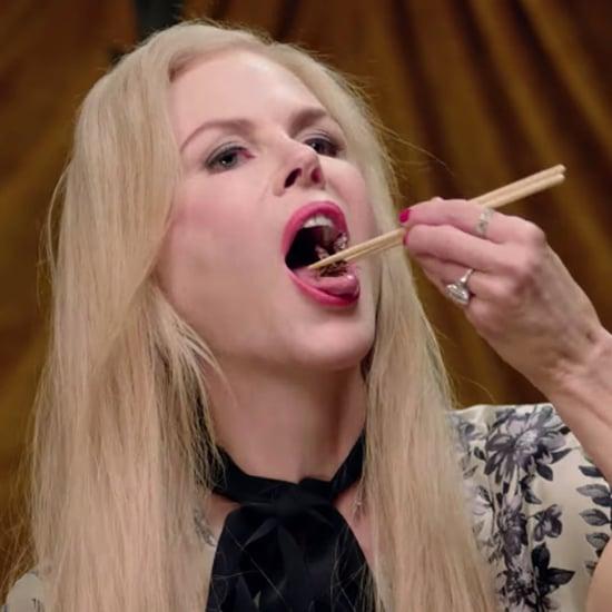 Nicole Kidman Eating Bugs Video