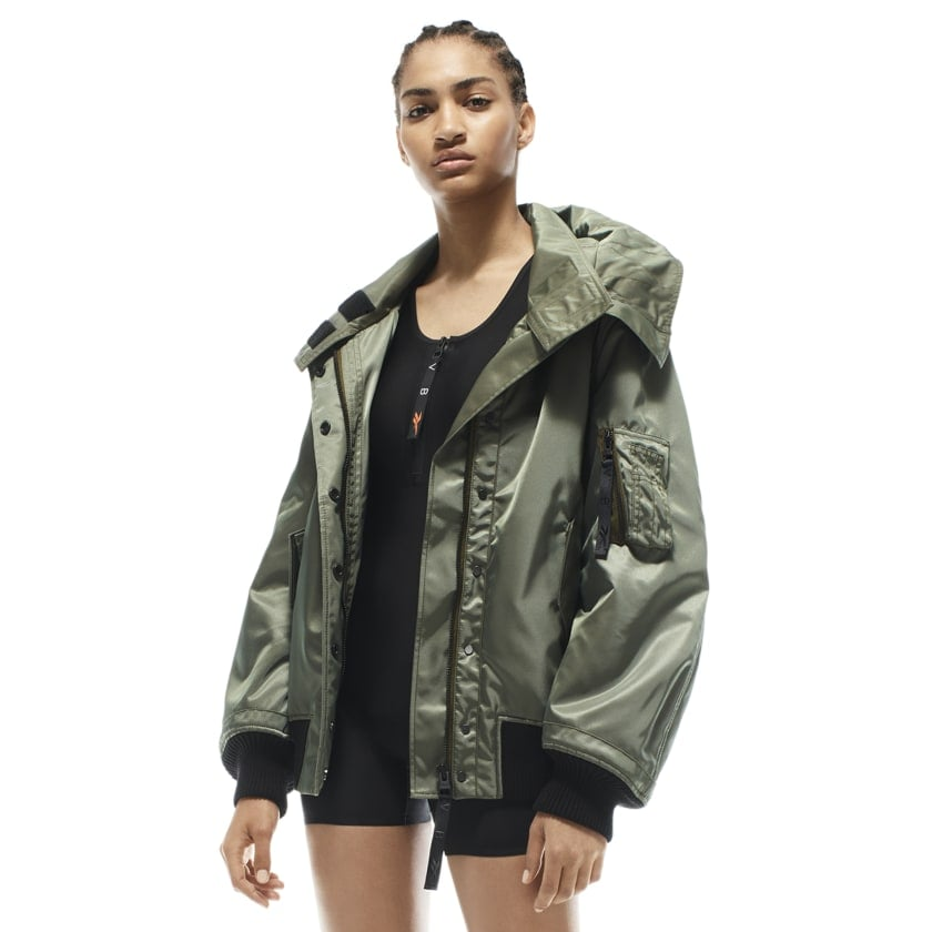 Reebok x VB Hooded Jacket — Green