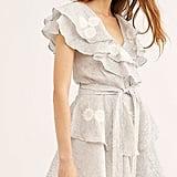 Innika Choo Pi Furlunche Wrap Dress