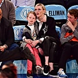 Cate Blanchett's Son Is Totally Mesmerized by the New York Knicks' Cheerleaders