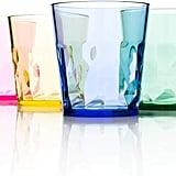 SCANDINOVIA - 8 oz Unbreakable Premium Juice Glasses Tumblers
