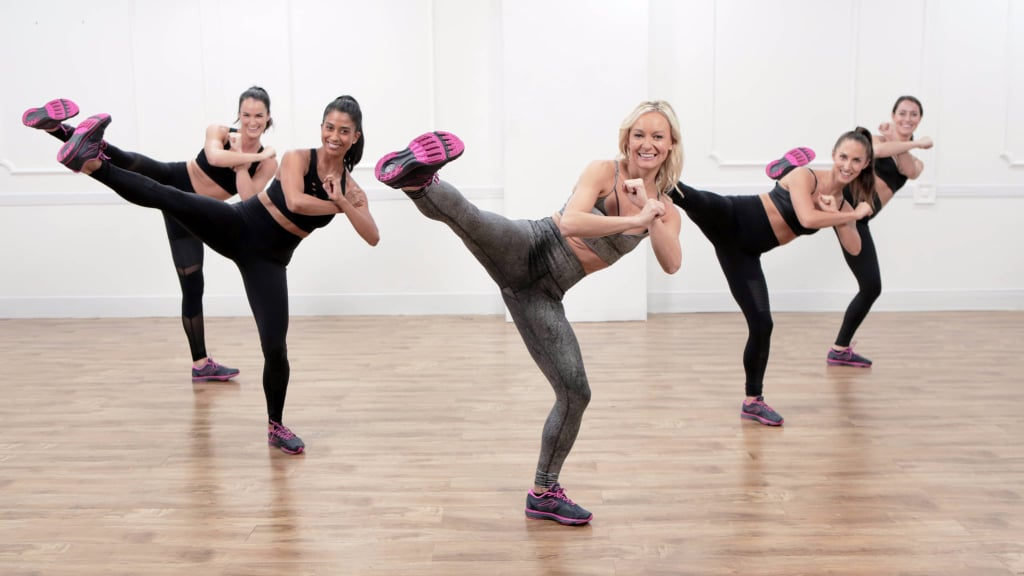 Full of Kicking and Punching, This Dance Cardio Workout Is What You Need
